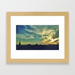 Charleston Skies Framed Art Print