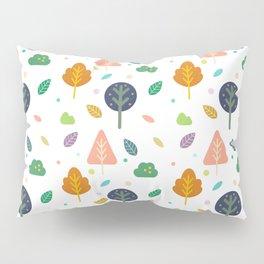 Minimal Tree Pattern Pillow Sham