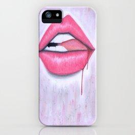 Bite it. iPhone Case
