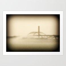 Hoan Bridge-Milwaukee Art Print