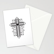 Mighty cross Stationery Cards