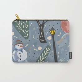 Red Bird and Cardinal Carry-All Pouch