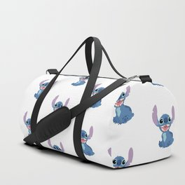 Stitch Pattern Duffle Bag