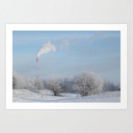 Frost Industries Art Print