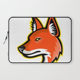 Dhole or Asiatic Wild Dog Mascot Laptop Sleeve