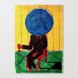 Bleuberry - Pop Art Surrealism Art Canvas Print