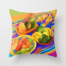 After The Market Throw Pillow