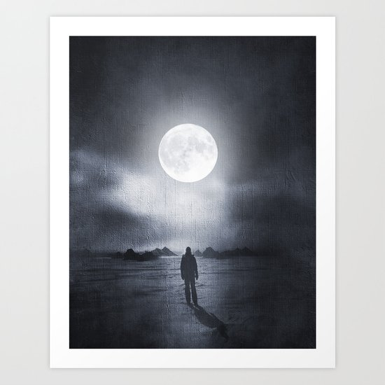 I can see you in my dreams Art Print