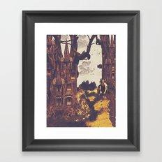 Dollhouse Forest Fantasy Framed Art Print