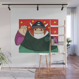 What if Baymax was Vicky the Viking (color) Wall Mural