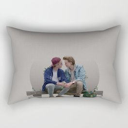 LOVE, EVAK. (light version) Rectangular Pillow