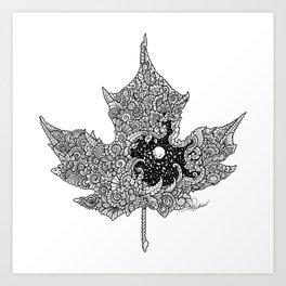 Nighty Autumn Art Print