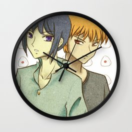 The Cursed Ones - Fruits Basket Wall Clock