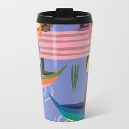 Water Village, Cambodia Travel Mug
