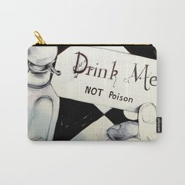 drink me NOT poison Carry-All Pouch