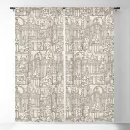 Ancient Greece natural Blackout Curtain