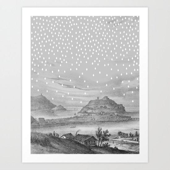 Euria Donostian Art Print