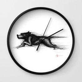English Pointer Wall Clock
