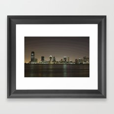 Jersey Just Got Colder (Posterized) Framed Art Print