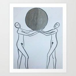 Full Moon of Ishtar Art Print