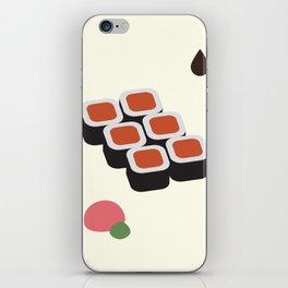 Spicy Tuna Roll iPhone Skin