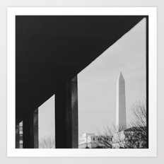 Abstract DC Art Print