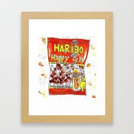 Haribo Framed Art Print