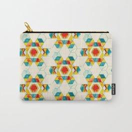 Retro Hexagon Carry-All Pouch