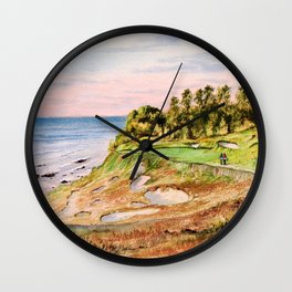 Whistling Straits Golf Course Wall Clock