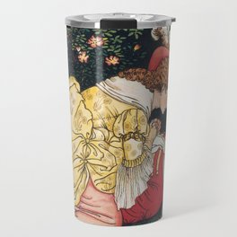 Beauty and the beast - Belle Mourns the beast Travel Mug
