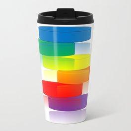Rainbow Ladder Travel Mug