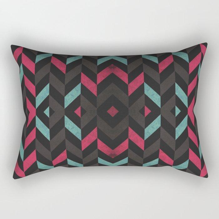 Pattern Center Rectangular Pillow
