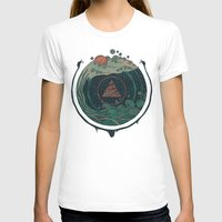 T-shirts featuring Water by Hector Mansilla