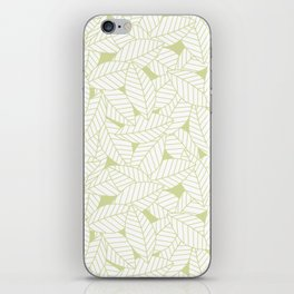 Leaves in Fern iPhone Skin