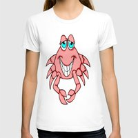 crab T-shirts featuring Cheerful Crab by J&C Creations