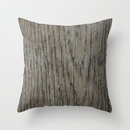 Worn and beautiful Throw Pillow