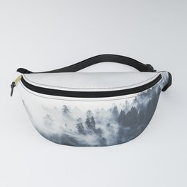 Foggy Forest Calm Landscape Fanny Pack