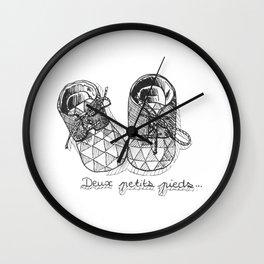 Two little feet Wall Clock