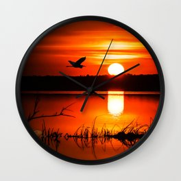Early Spring Sunrise Wall Clock