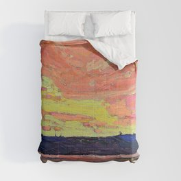 Tom Thomson - Sunset - Digital Remastered Edition Comforters