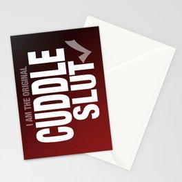 CUDDLE SLUT Stationery Cards