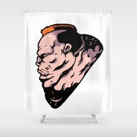 xmen Shower Curtains featuring x6 by jason st paul