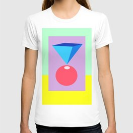 Colorful abstract. T-shirt