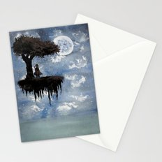 The Girl Among The Stars Stationery Cards