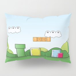 World of Mario Pillow Sham