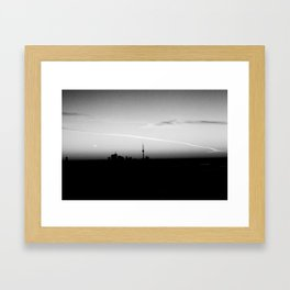 Toronto (Olympus Pen + Kodak BW 1ooTmax) Framed Art Print
