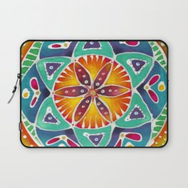 Seed of Life - Batik Laptop Sleeve