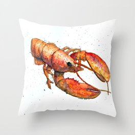 Mississippi Mud Bug Throw Pillow