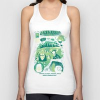 adventure Tank Tops featuring Adventure Comics by jublin