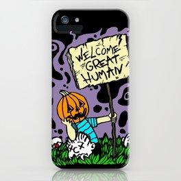 Great Pumpkin Massacre iPhone Case